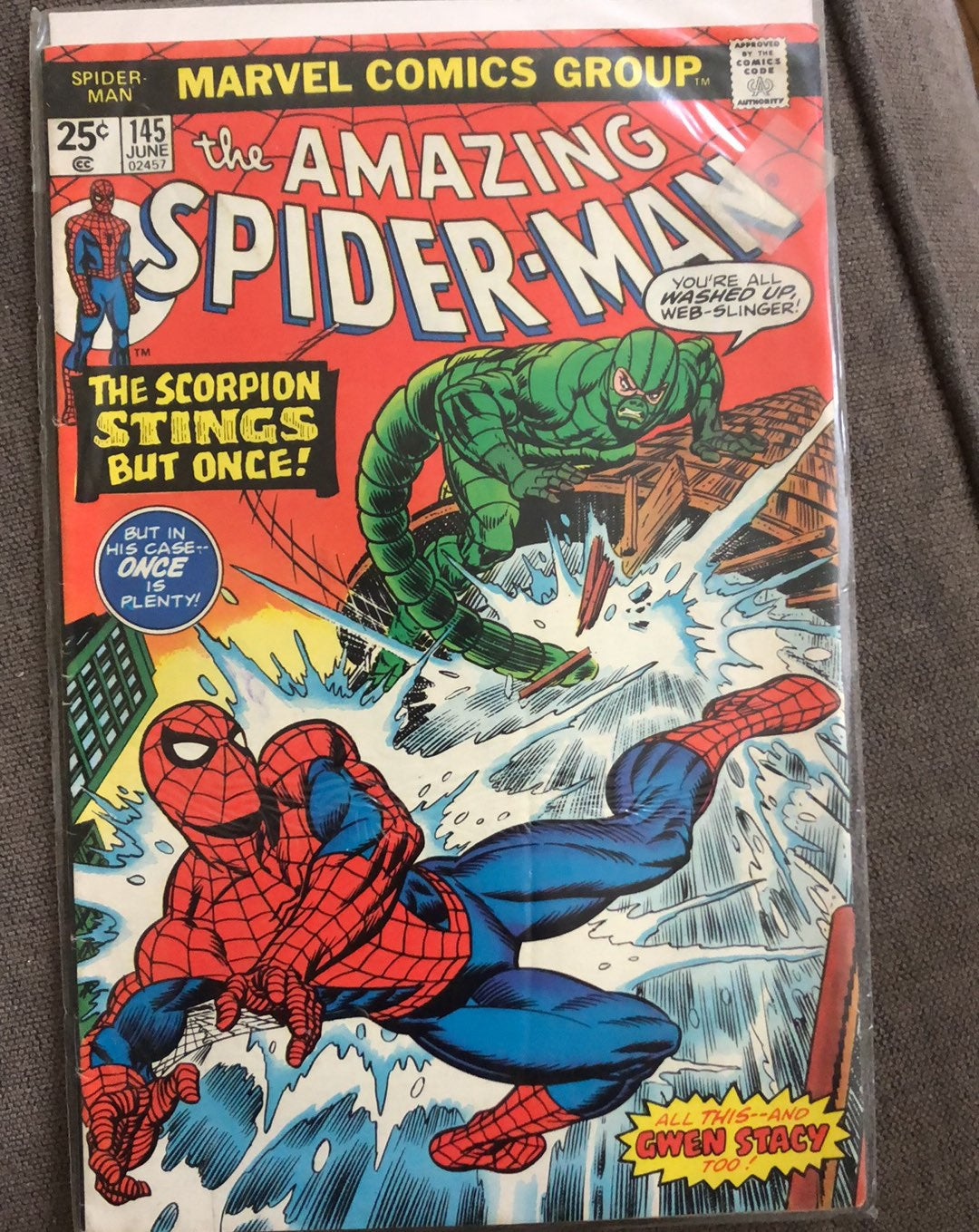 The Amazing Spider-Man #145 FN Scorpion
