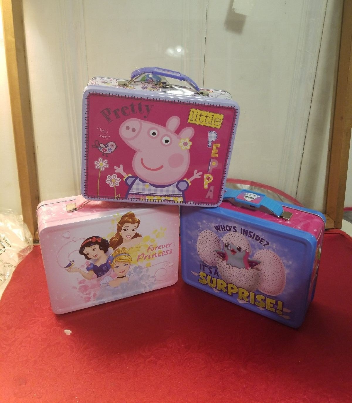 Peppa Pig Princess Hatchimals Lunchbox