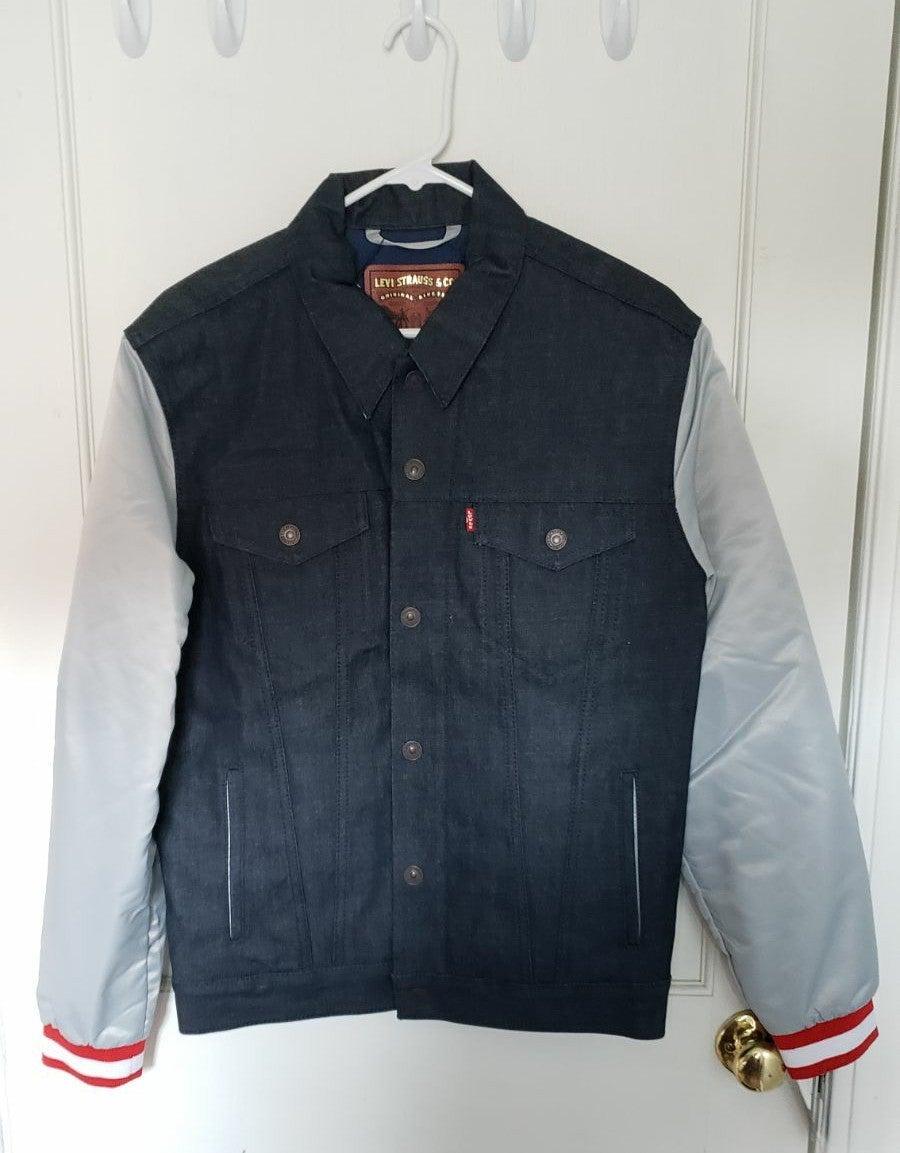 Levi's Patriots Letterman Denim Jacket M