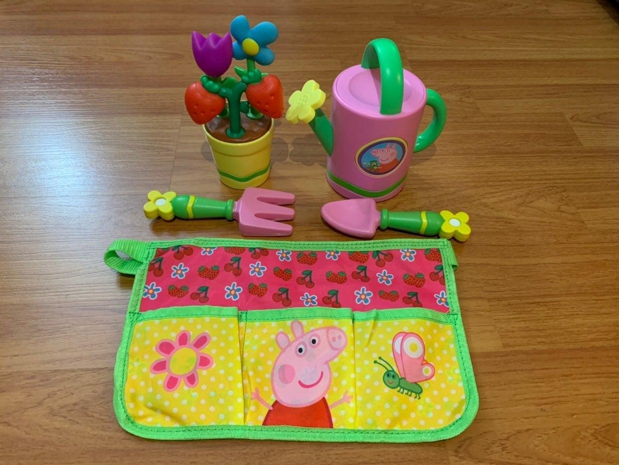 Peppa Pig Flower Garden Roleplay Set