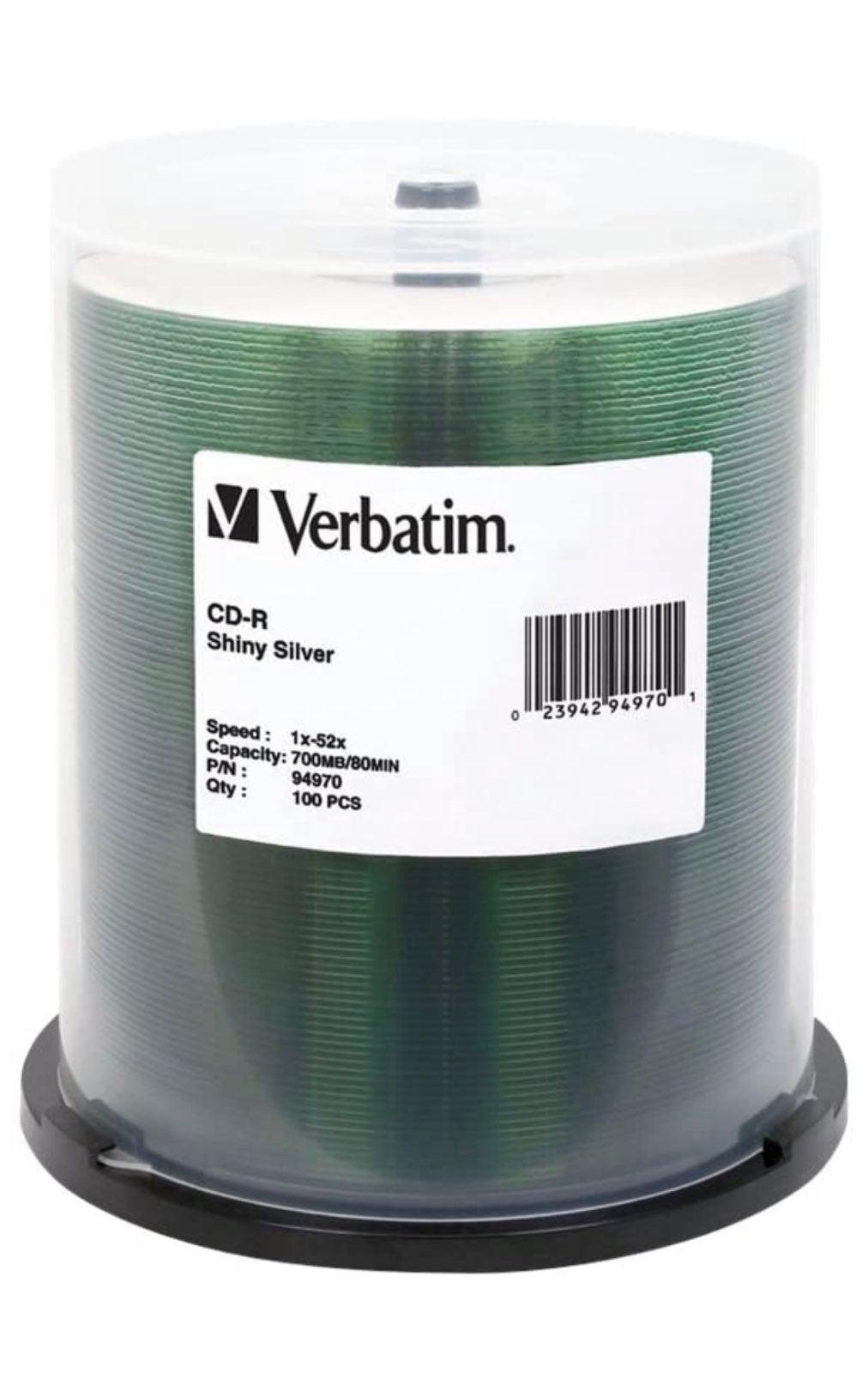 Verbatim CD-R 700MB 52X 100 pack
