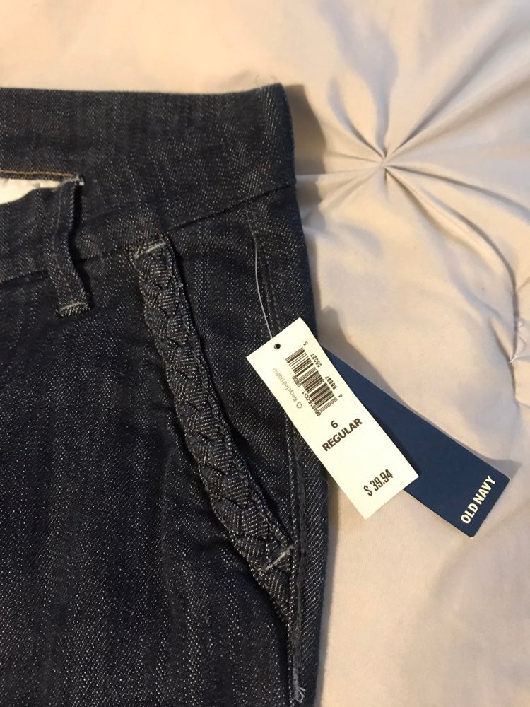Brand new denim pants with tags
