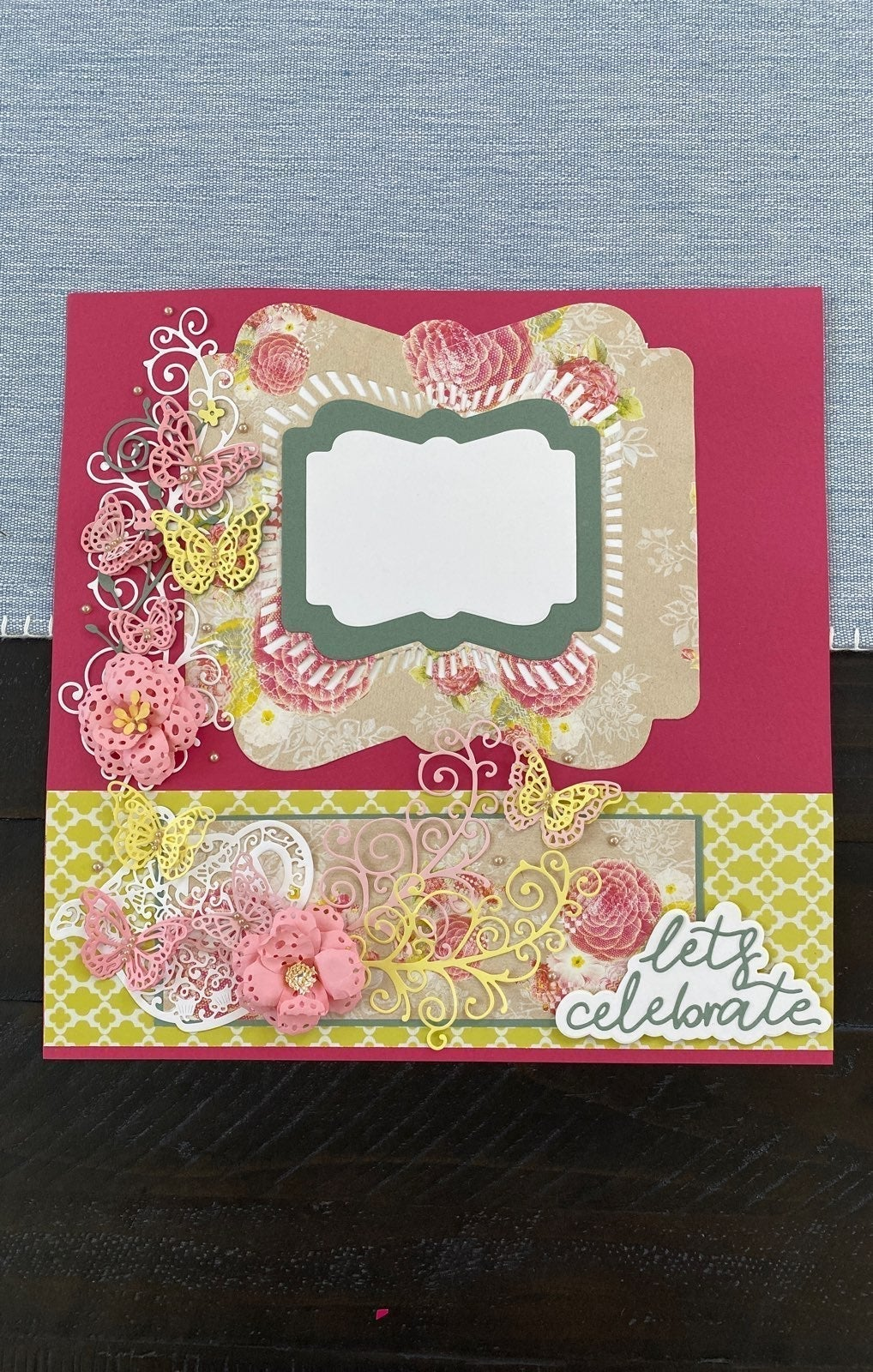 2 Intricate scrapbook page layouts