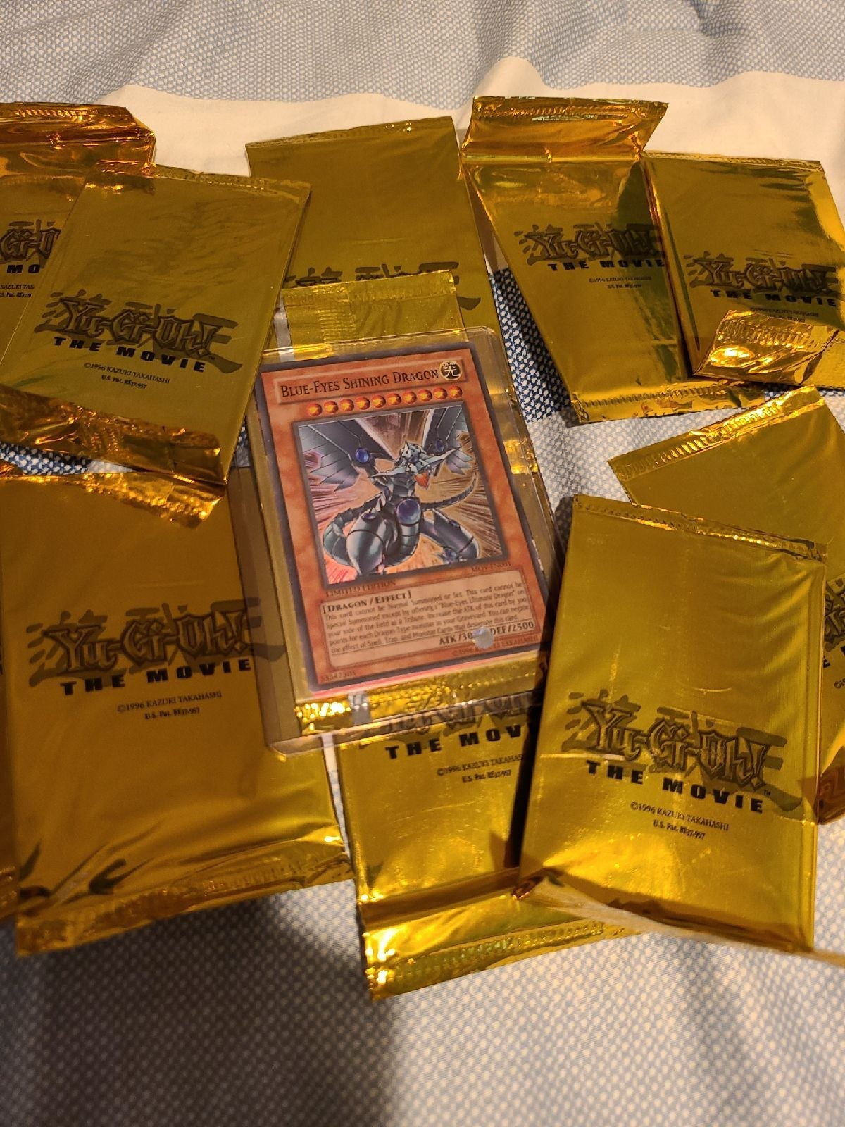 YuGiOh The Movie Promo Packs (lot of 10)