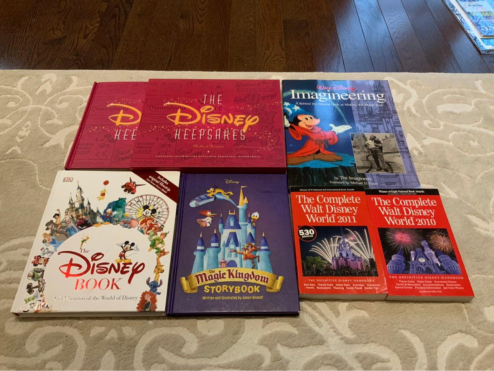 Walt Disney book collection RARE