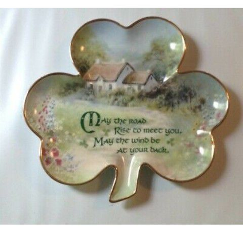 Franklin Mint Irish blessings plate