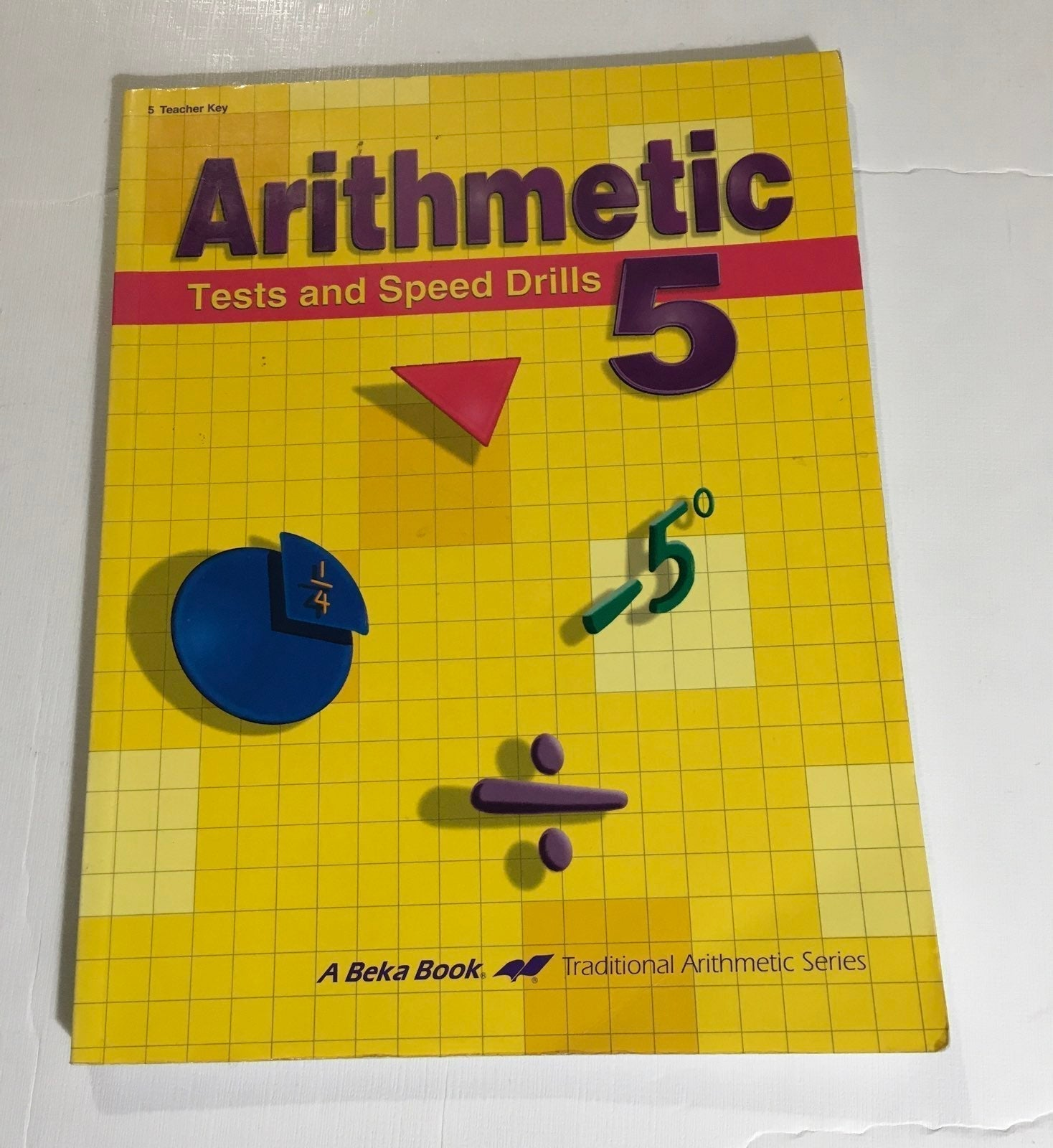 Abeka Arithmetic math 5 speed test key