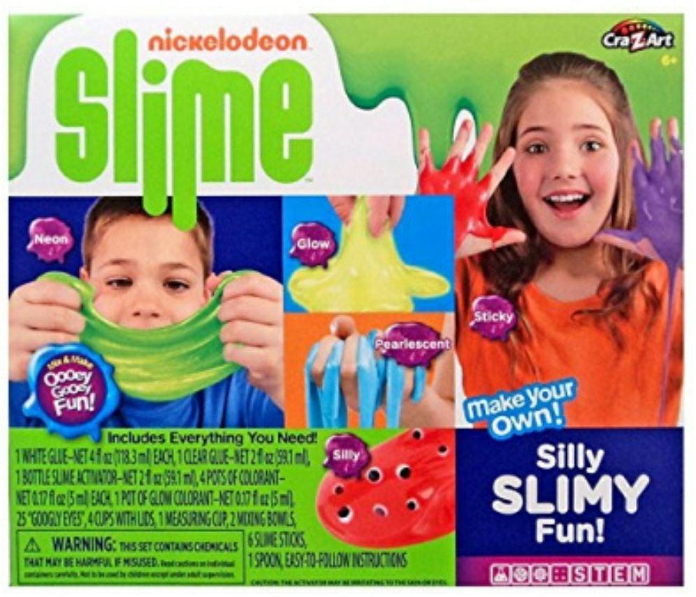 Nickelodeon Slime Silly Slimy Fun Kit