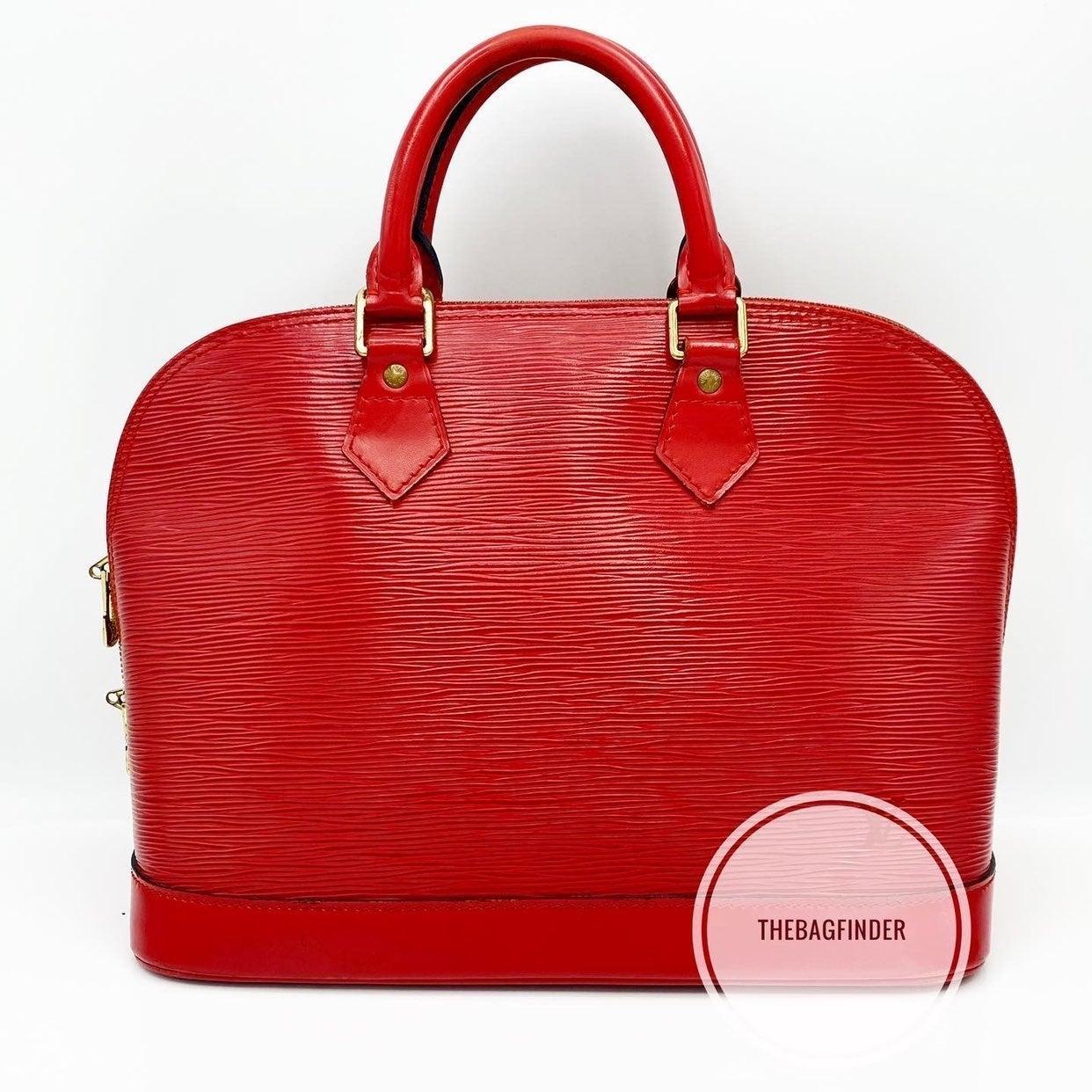 Louis Vuitton Alma Epi PM