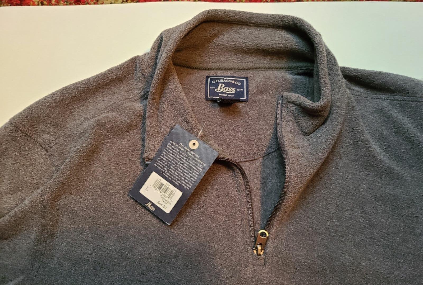 1/4  Men's  Fleece Pullover
