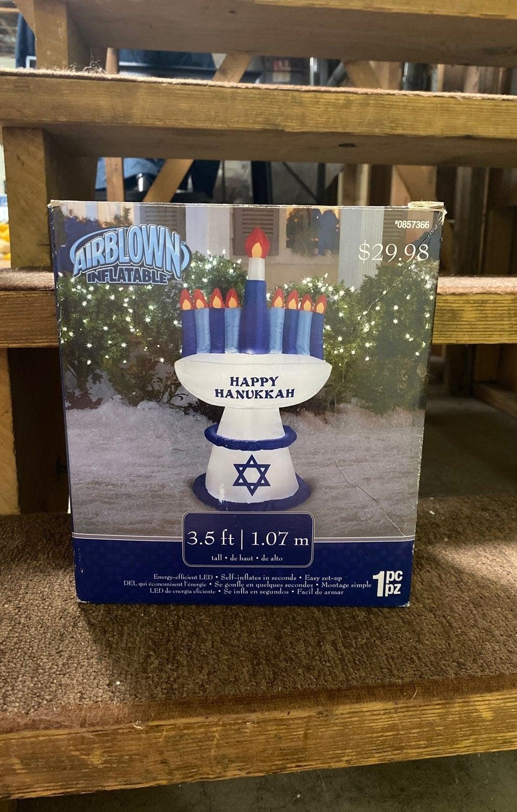 Gemmy Inflatable Hanukkah candles