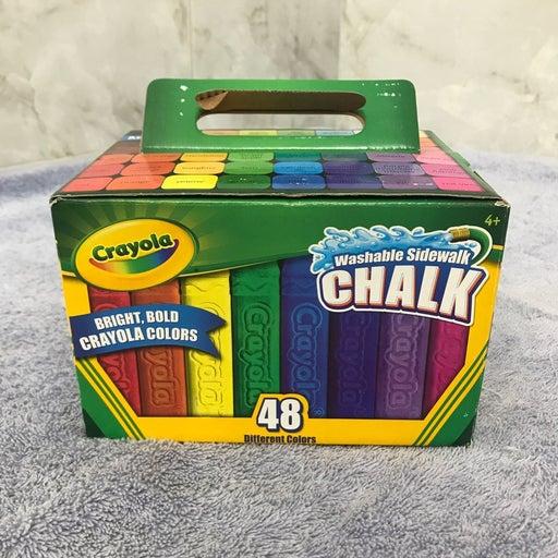 Crayola Washable Sidewalk Chalk 48