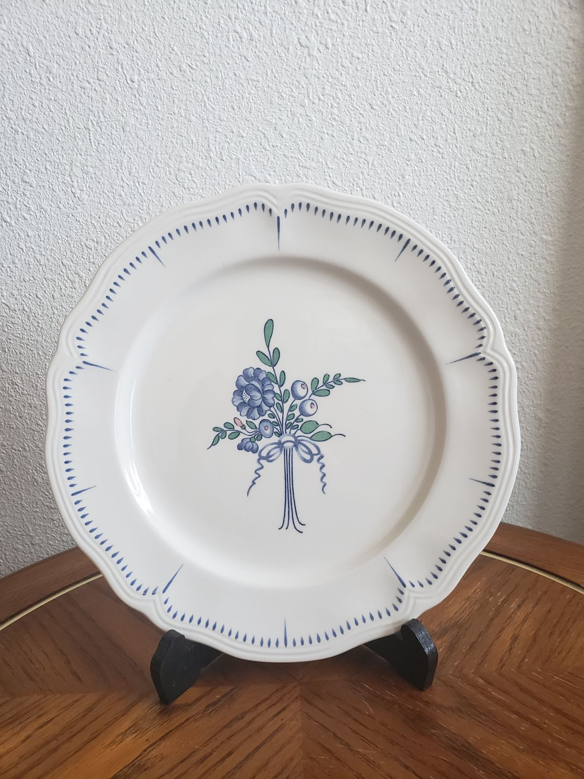 Open House  Floral Ironstone plate