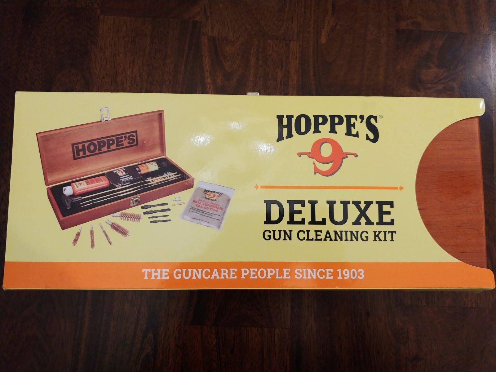 Hoppes Deluxe Gun Cleaning Kit