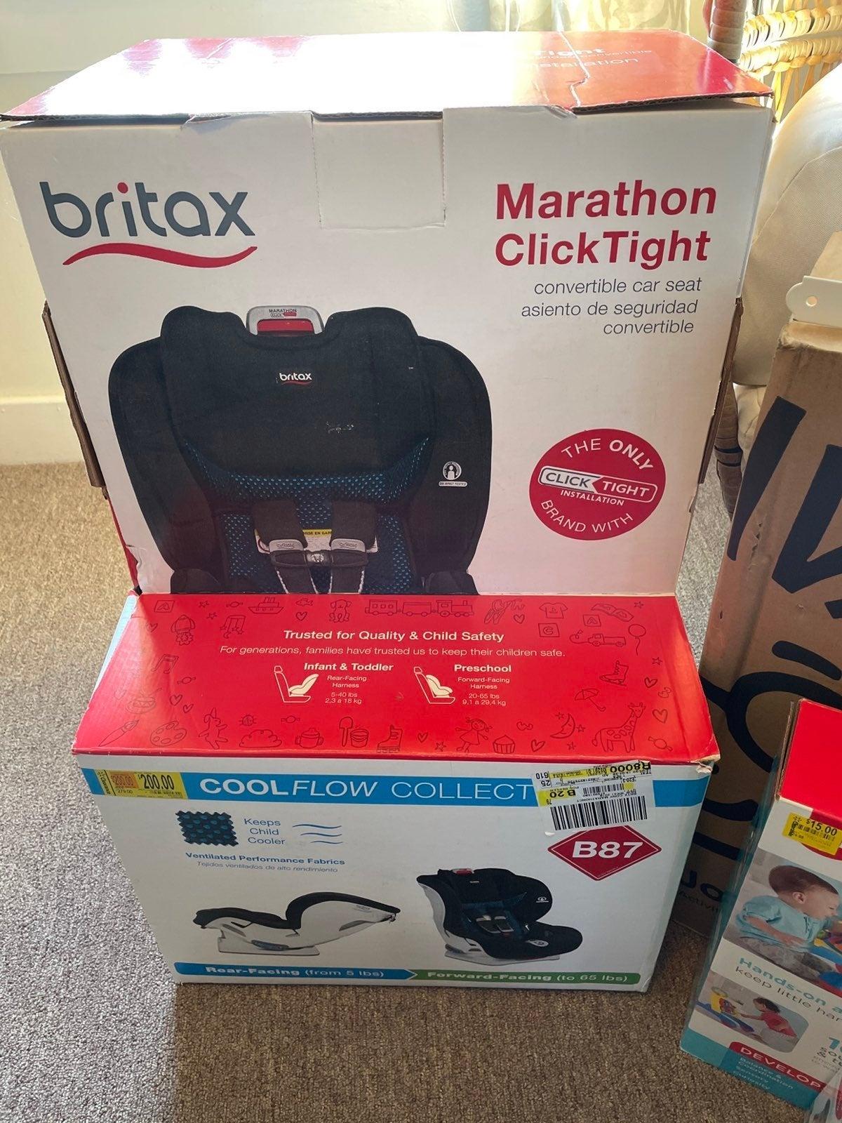 BRITAX Marathon ClickTight Cool Flow