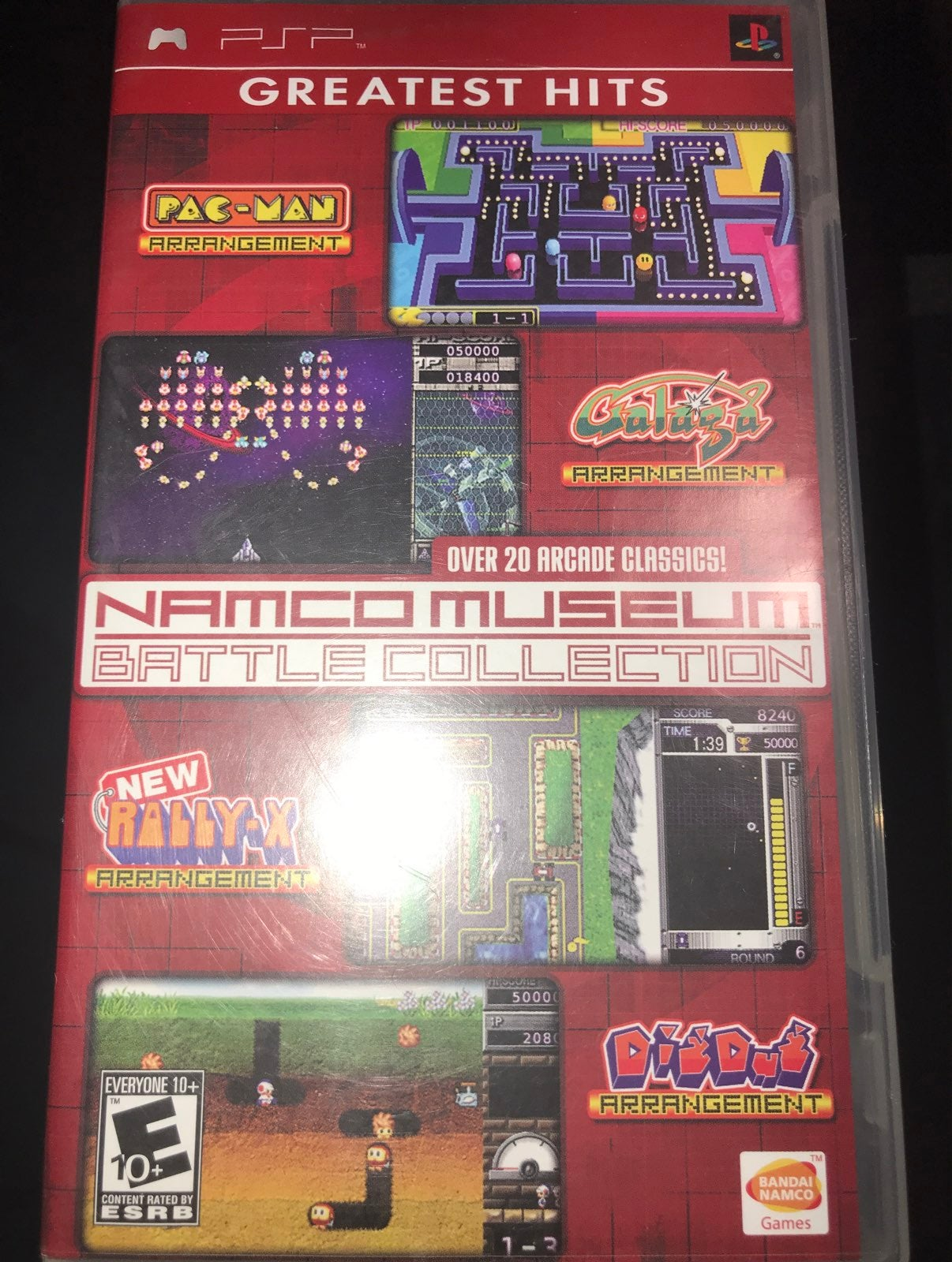 Namco Museum Battle Collection on Sony P