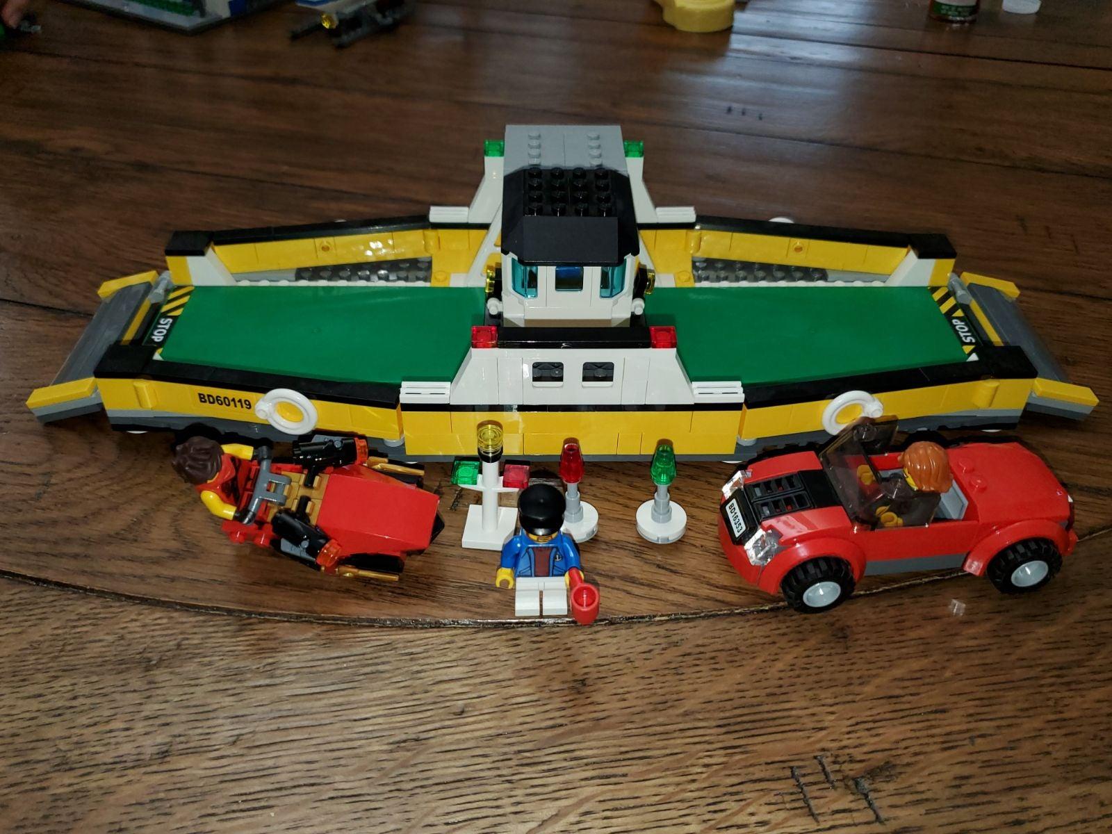 Lego 60119 City Ferry 100% Complete + ex