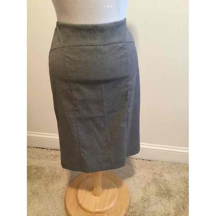 Stile Benetton Houndstooth Skirt 42