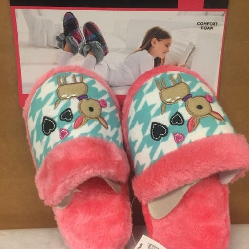 NEW Girls Cuddl Duds House Shoes