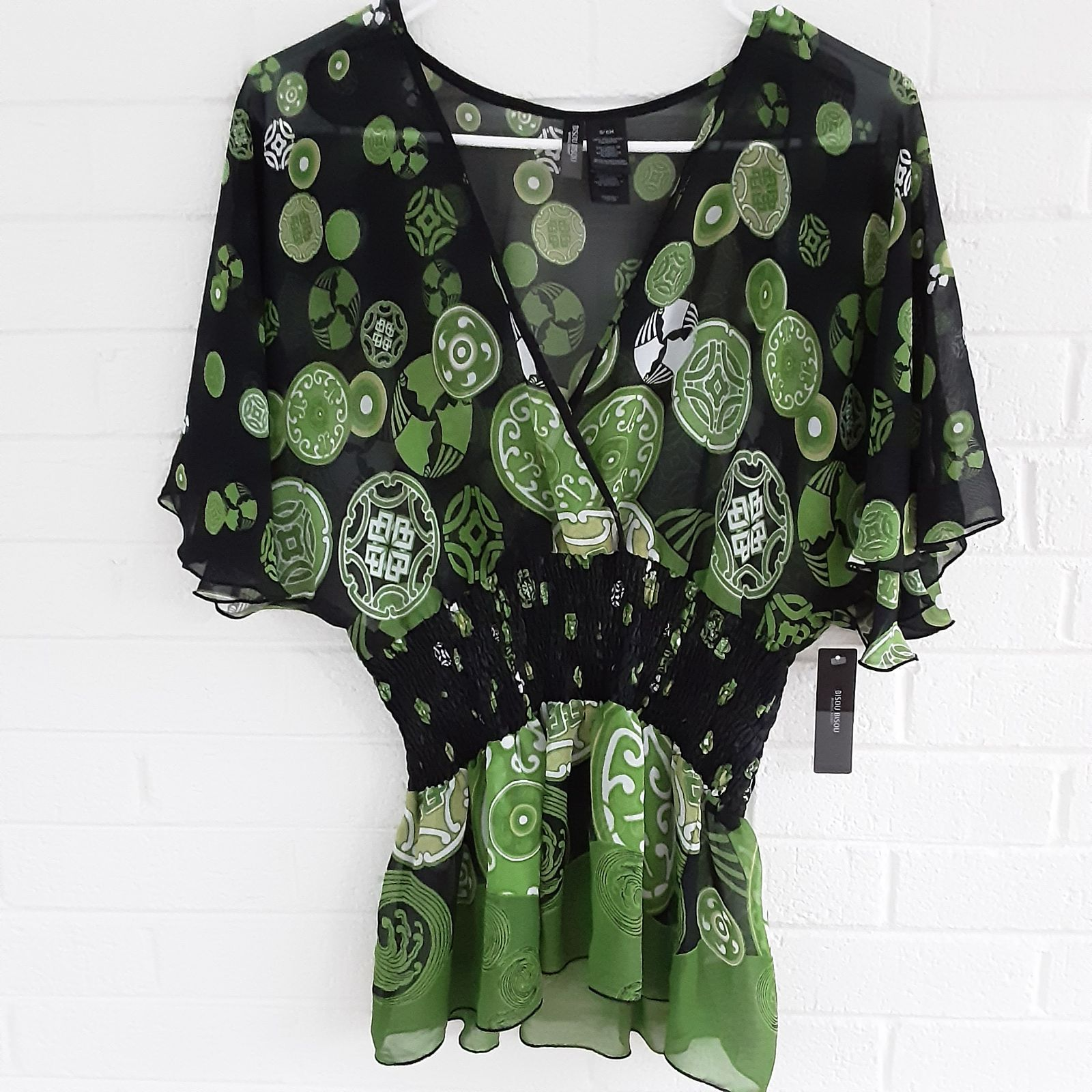 Bisou Bisou Top Size Small New With Tags