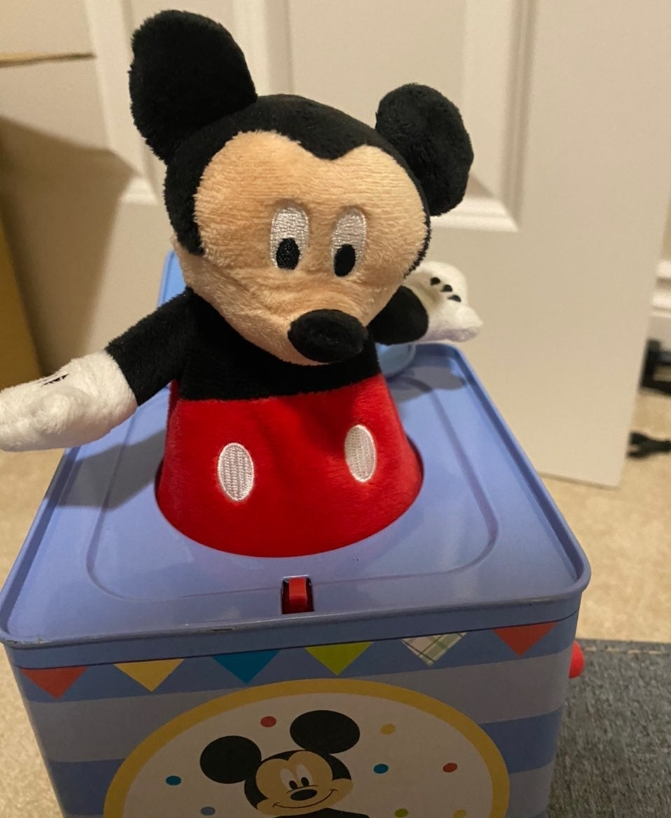 Disney Jack in the Box Mickey Mouse