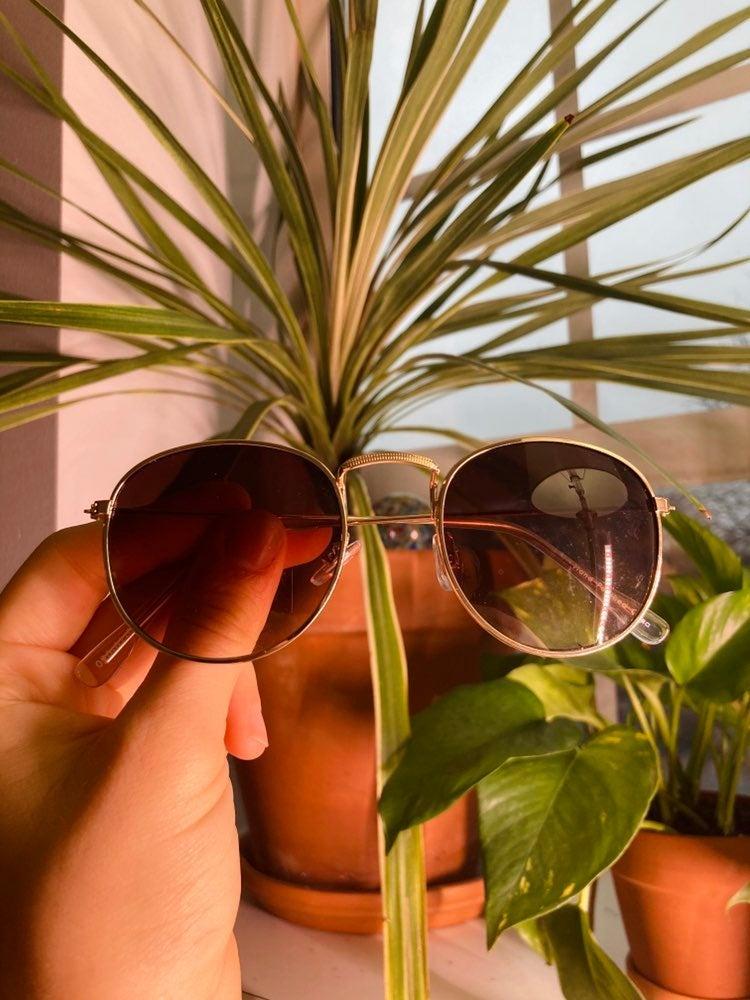 Round sunglasses unisex