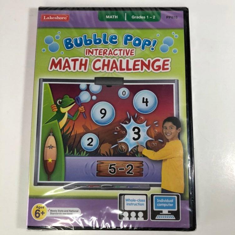 Bubble Pop! Math Challenge Computer Game