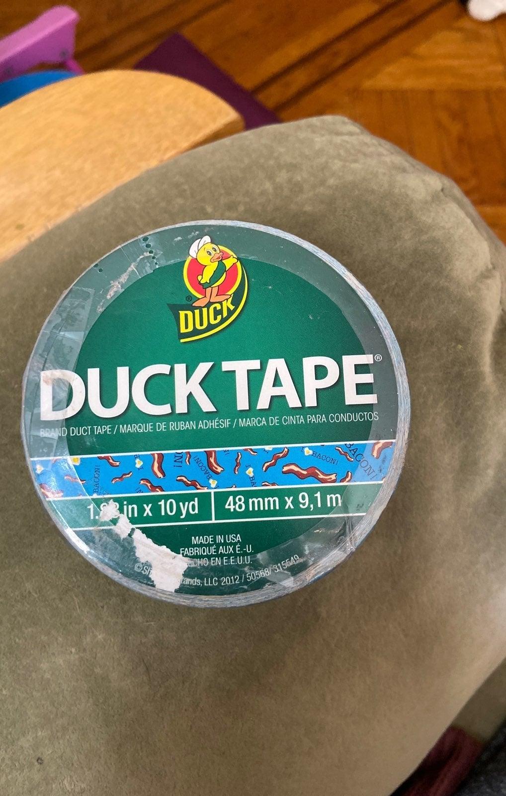 Duck tape ( i love bacon)
