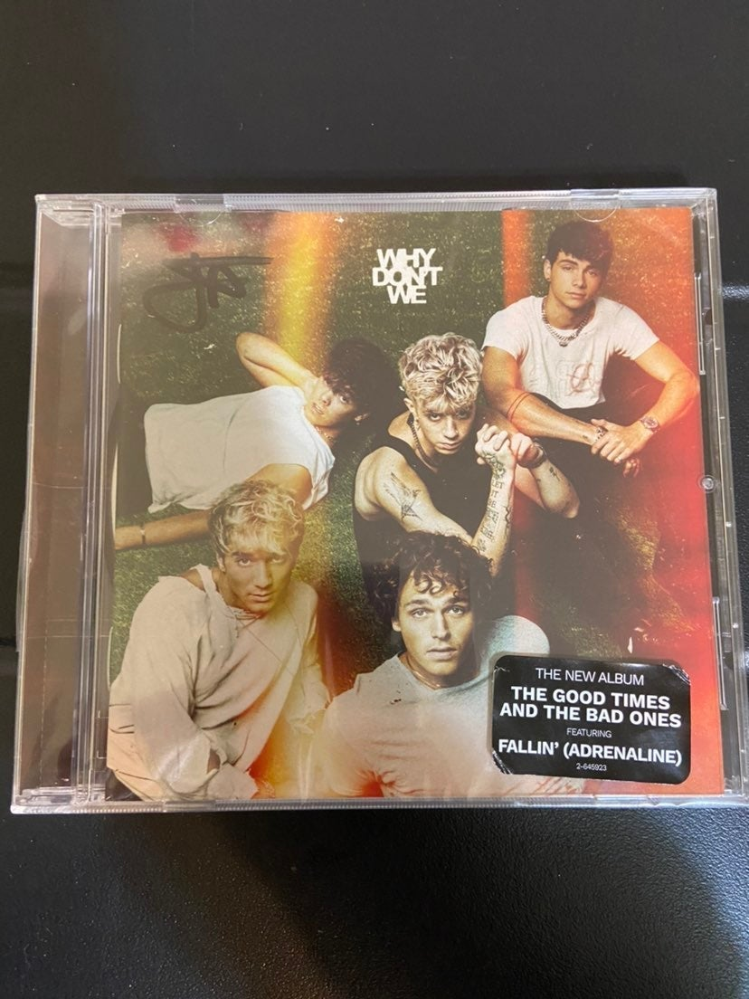 Why dont we signed album
