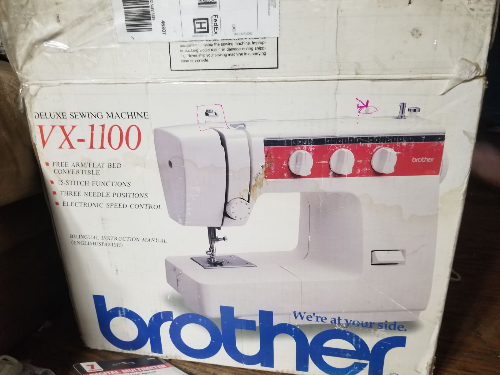 Brother sewing machine Please Read!