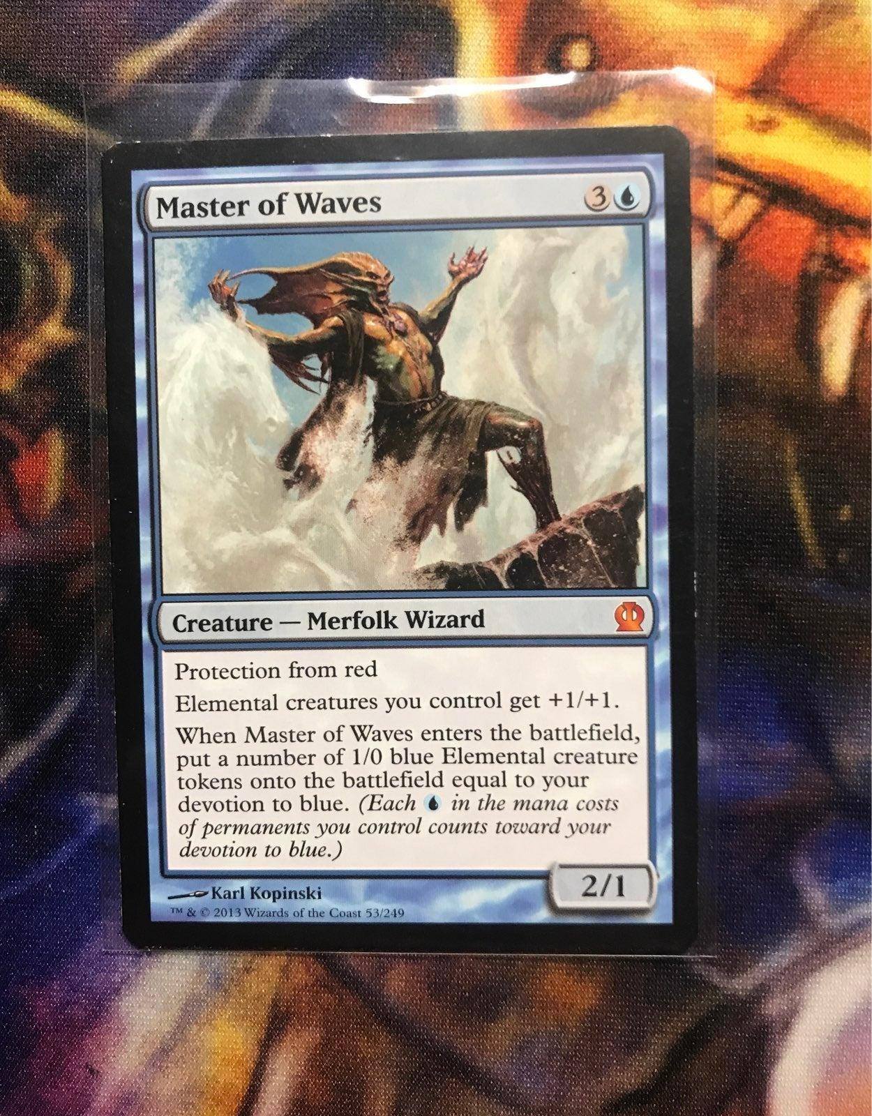 MTG Master of Waves card
