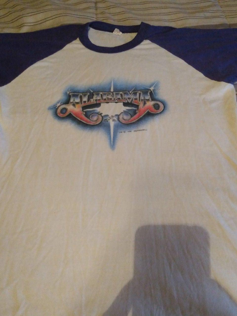 1982 Alabama Band Raglan XL