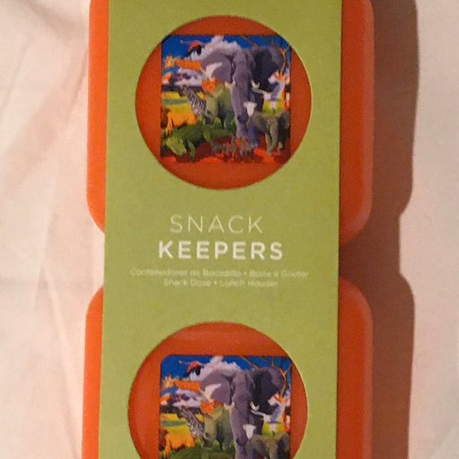 NEW Eco Kids reusable snack containers