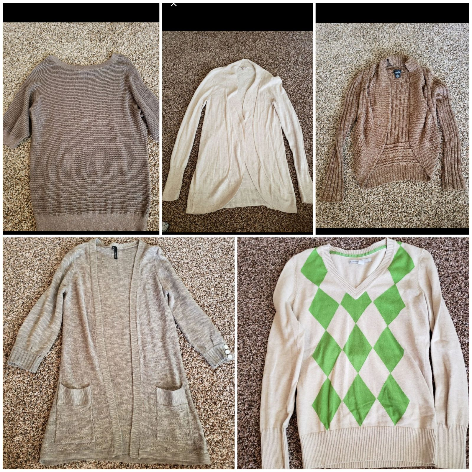 bundle of women clothes