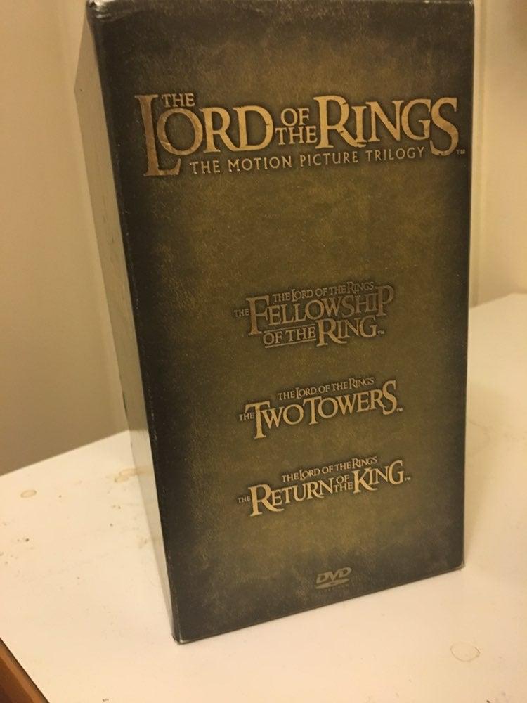 Lotr trilogy box Just the Green box!