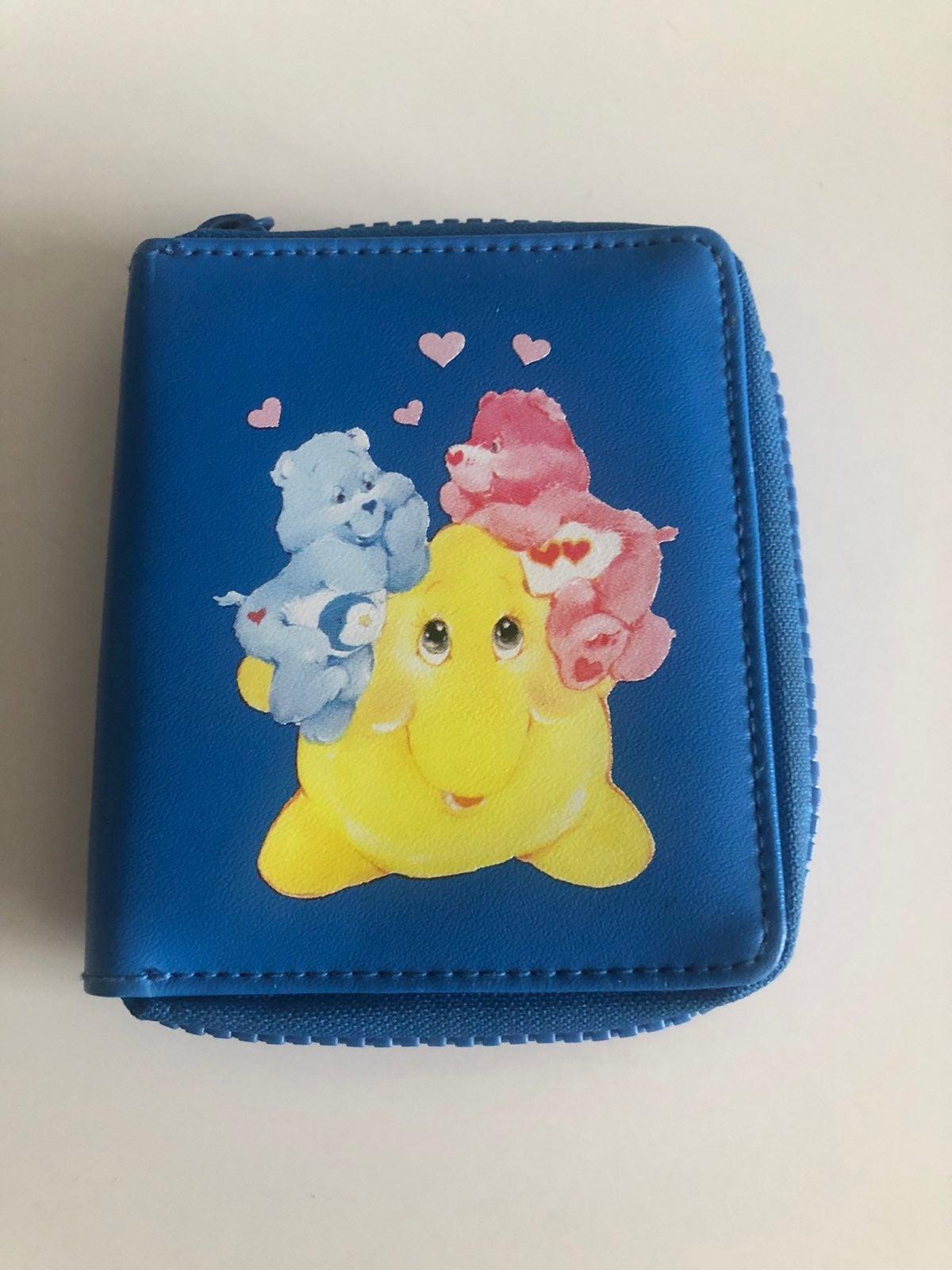 Vintage Care Bears Wallet, 2003
