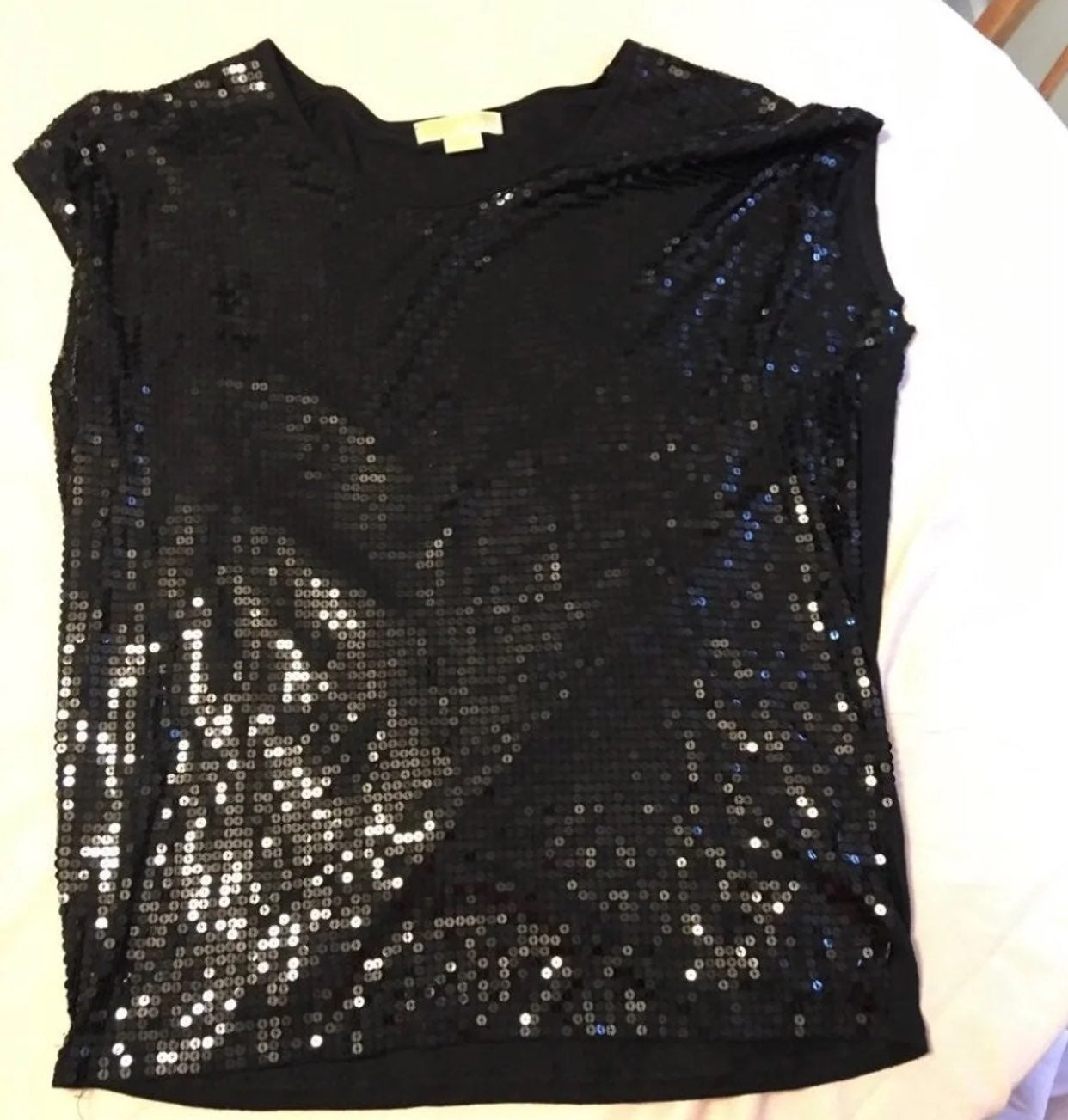 Michael kors shirt & sequins top