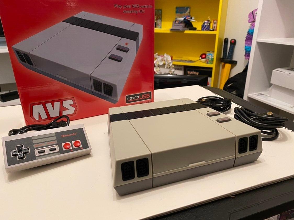 Retro USB AVS FPGA For Nes Games
