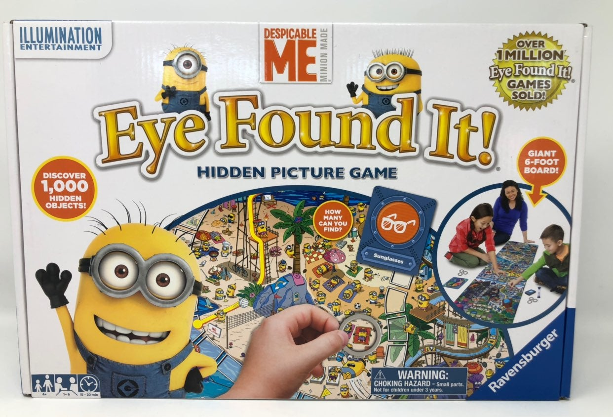 Eye Found It! Despicable Me Hidden Pic
