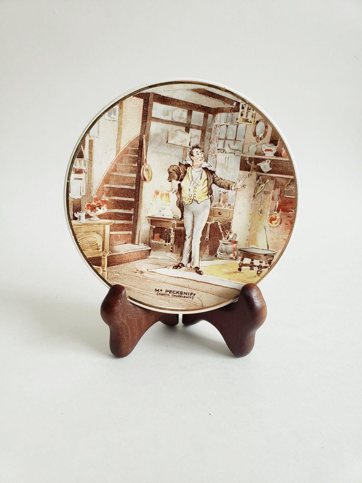 Vtg Staffs teaset tunstal mini plate