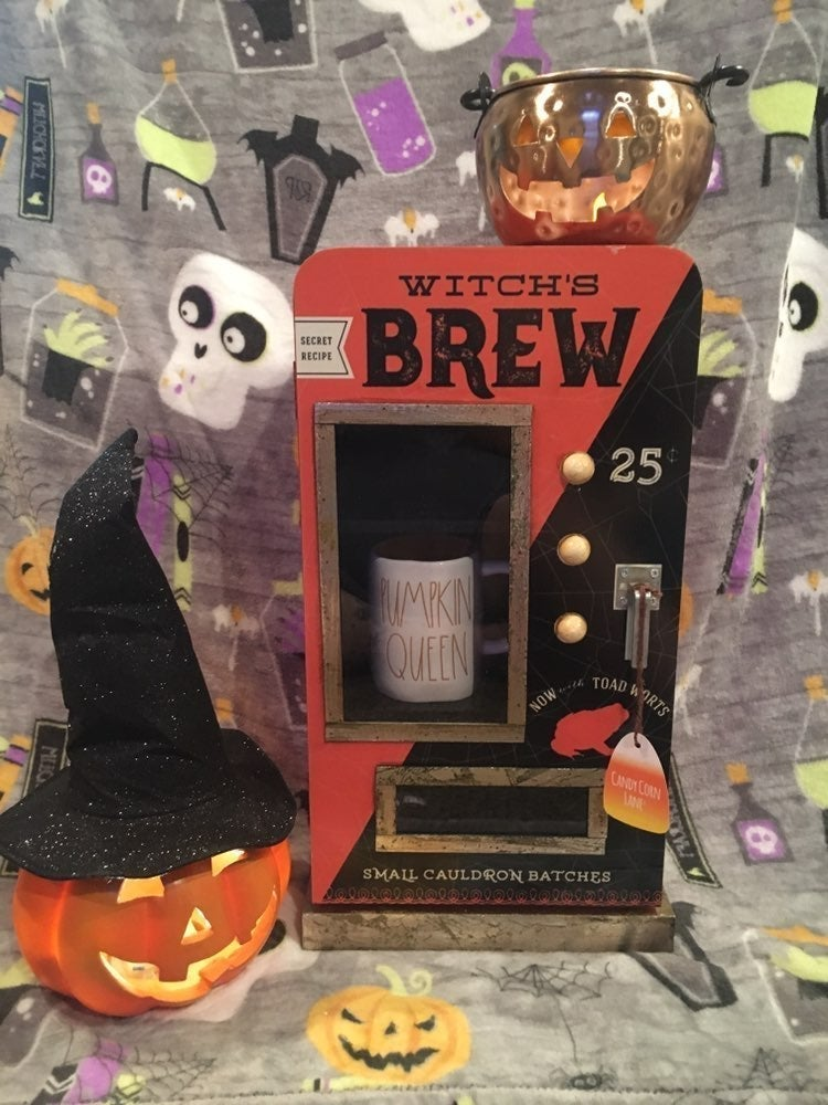 WITCHS BREW RAE DUNN CABINET