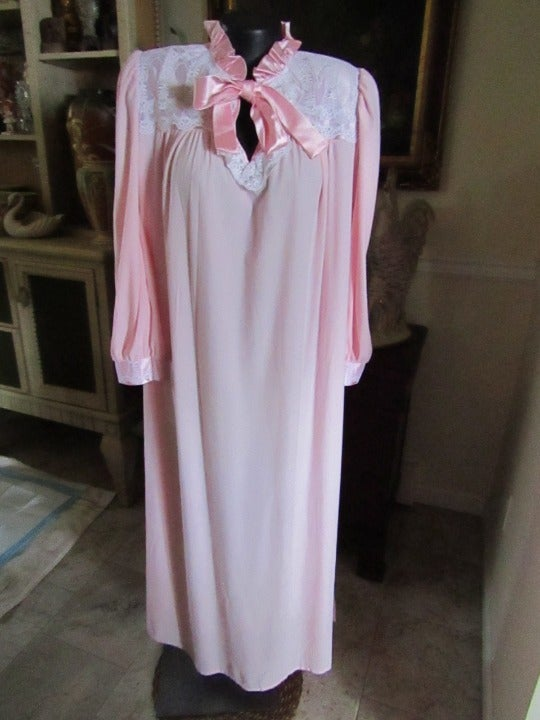 Pink Gilligan O'Malley Nightgown  Large