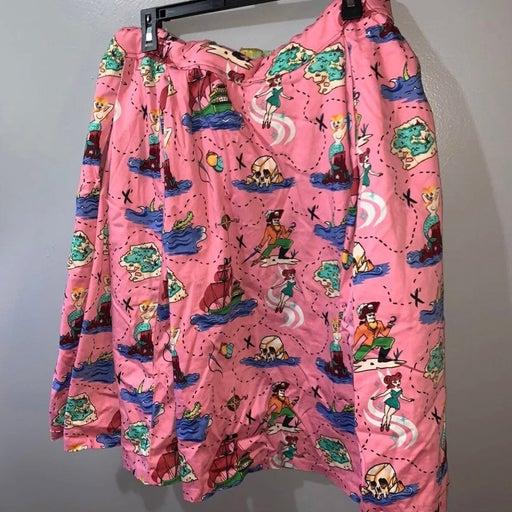 Pinup girl couture peter pan skirt