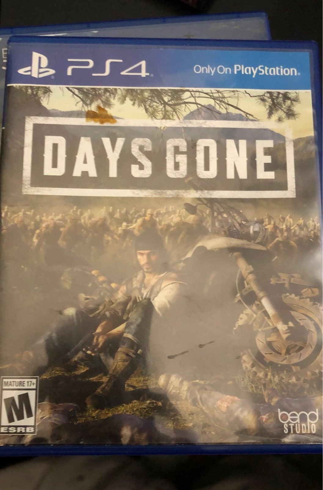 Days Gone on Playstation 4