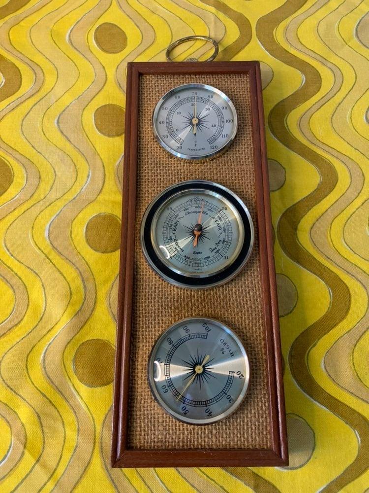 Vintage MCM Empex Weather Statio