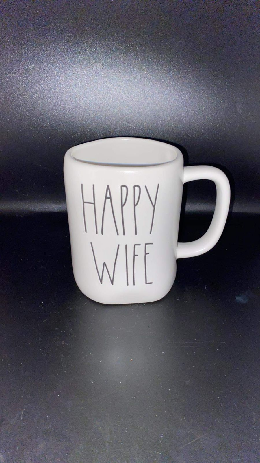 Rae Dunn Happy Wife Mug