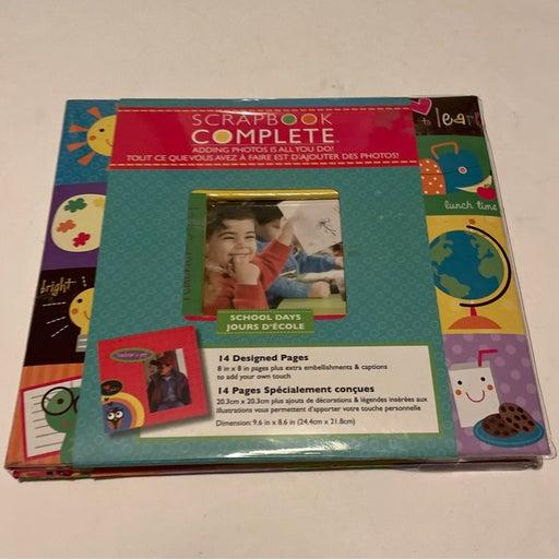 Scrapbook Complete School Days 14 design