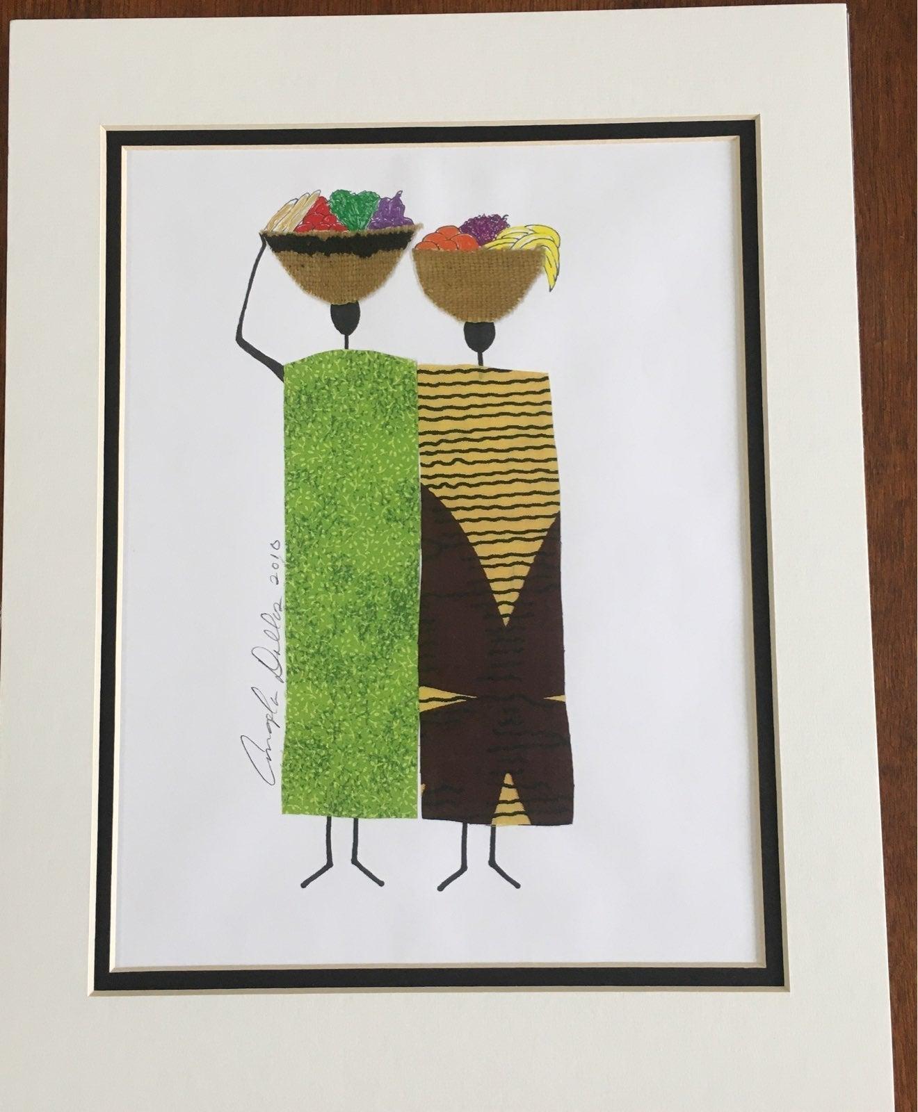 Angela Dallas Art Print-signed