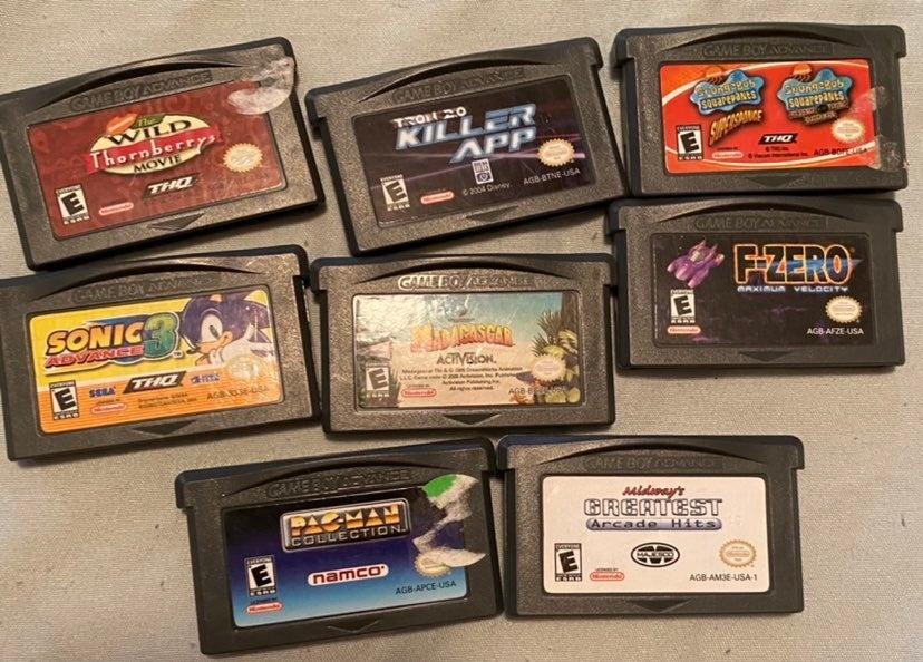 Lot of 8 Nintendo Gameboy Advance Games