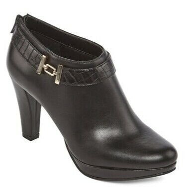 East 5th Women's Black Ankle Booties